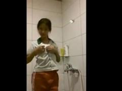 18yo Chinese Girl Striptease In Shower Freefetishtvcom
