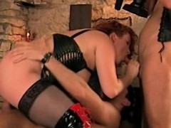 Busty Stepmom Hungry For Stepson And His Frie