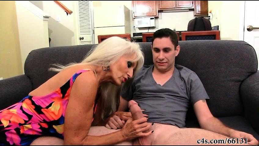 Big Tit Smoking Mom Son