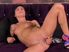 beautiful czech stunner lexi dona fingers and orgasms