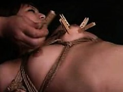 Stacked Oriental shemale gets her tight anal hole fingered