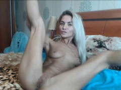 Blonde Teen Switching Positions With Her Wet Pussy