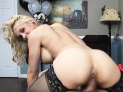 Blonde Milf Needs Cock While Husband Is Away Sarah Vandella