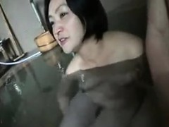 Lustful Japanese Wife Drops Her Clothes And Gets Pleased By