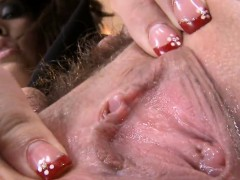 attractive-centerfold-is-presenting-her-opened-wet-cunt-in-c
