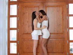 Alexis Brill And Diana Dolce In I Missed You Lesbian Scene