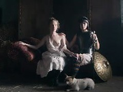 lily-rose depp, tamzin merchant and soko in hot sex scenes