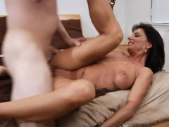 mama is humping hard to get creampie and to achieve large o