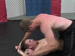 Mma Jock Asspounded After Getting Blown