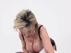 Unfaithful British Mature Lady Sonia Flashes Her Big Natural