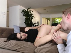 footworshiped-babe-assfucked-passionately