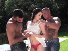 classy eurobabe anally fucked and jizzed on xxx.harem.pt