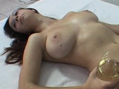 Czech amateur with big tits at 1st casting ever