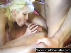 She Not Only Has A Dick In Her Mouth