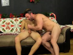 It's Time For Holidays And Brock Is Having Patrick Over At