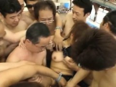 Japanese Pervs Assault At Public Pool!