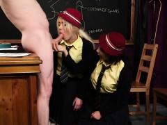 Cfnm Schoolgirls Blowing Teachers Dick
