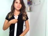 Teen Girl Solo Masturbation and Striptease