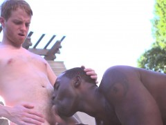 ginger-bottom-tugs-while-bbc-daddy-rams-him