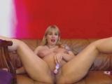 7th Month Pregnant Blonde Milf Loves DP