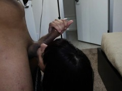 deepthroating bitch fucked on tape for cash xxx.harem.pt