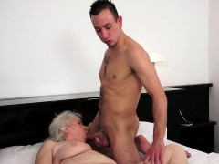 Titfucking old grandma