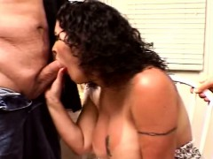 Sweet Tits Swinger Threesome For Brunette Swinger Wife