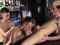 You Know It's Always Wild Behind The Bar At A Gay Club At
