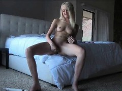 Sierra Sex Petite Teen Blonde Toys Glass