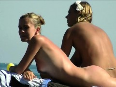 Spanish Beach Babes Nudist Beach Hidden Cam