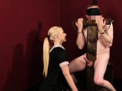 clothed-mistress-strokes