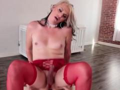 Tranny Chloe Wilcox Rides Diamonds Cock