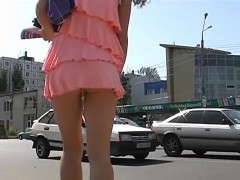 Real Pulled Euro Amateur Upskirt