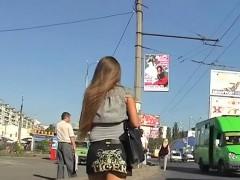Fantastic Upskirt In Public