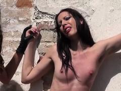 sexy pornstar bdsm with cumshot