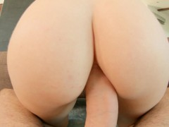 Mira Sunset presented in rough anal scene gonzo style