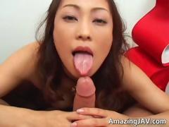 Wakeari Asian Abbe Sucking Dick Part1