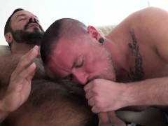 Tattooed Stud Bareback Fucked By A Bear