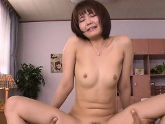 wench asian mama deepthroats massive penis and her twat fingered