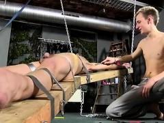 Sm Male Penis Bondage Gay Dean Gets Tickled, Scorching