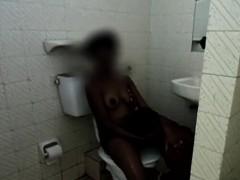 Random African Beauty Fucked In The Shower By A Horny Ebony