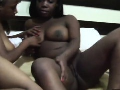 Ebony Lesbian Hotties Are The Best Couple Ever. All They