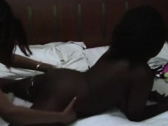 Busty And Sexy African Lesbians Know What Make Them