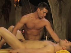 Erotic Gay Couple Massage