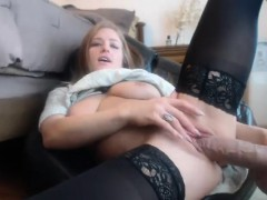 stockings-clad-hoe-toys-pussy-pov-style-for-big-cock-dude