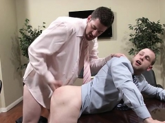 Rock Hard Anal Excitement At Work