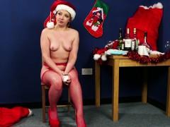 naughty christmas babe cocksucks santa pov Teen porn