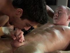 Muscle Gay Oral Sex And Massage
