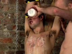 Hair Men Gay Sex In Spitting Cum In A Slaves Face