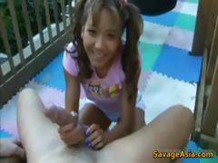 Asian Teen Sucking Cock 1 By Savageasia Part6